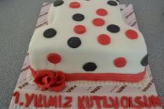 İlk Yaş Pasta 1