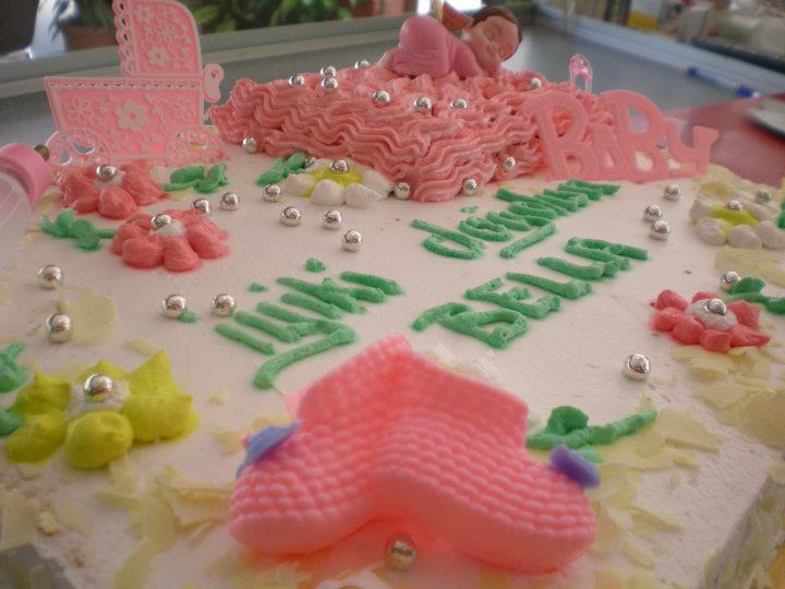 Bebekli Doğum Günü Pastası