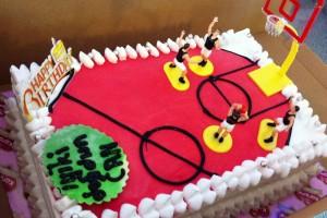 Basketbol Takım Pastası