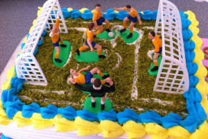 Fenerbahçe Futbol Takımı Pastası